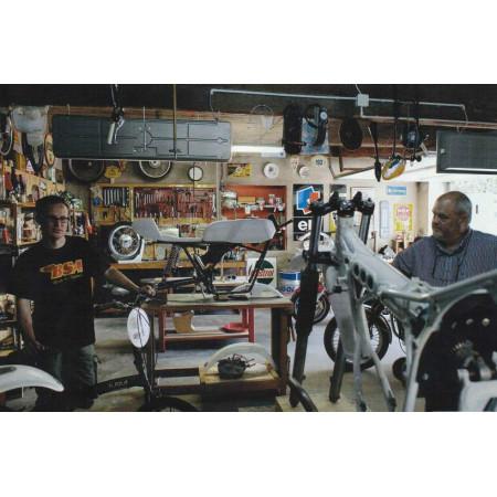 Michel & Ivan à l'atelier...