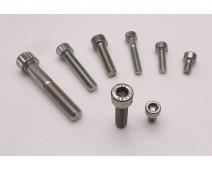 VIS INOX CHC SIX PANS CREUX Ø M 5 x 16 mm ( Lot de 10 vis )