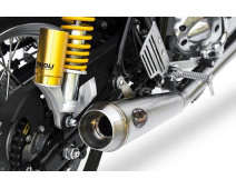 LIGNE ZARD INOX RACING POUR ROYAL ENFIELD CONTINENTAL GT