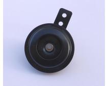 AVERTISSEUR SONORE / KLAXON NOIR Ø 70 mm  12V   100 DB