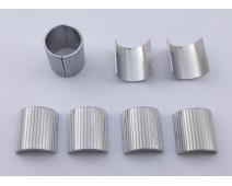 KIT DE REDUCTEURS DE GUIDON 25,4 mm (1 pouce) à 22 mm. ( 4 x 1/2 pièces )