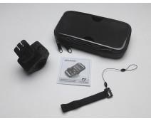 SUPPORT ET SACOCHE POUR SMARTPHONE OU GPS 6.5 POUCES (170 X 91 mm)