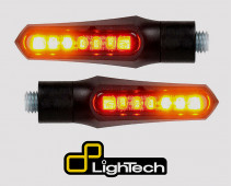 PAIRE DE CLIGNOTANTS A LED ARRIERES AVEC FEUX DE POSITION ET FEUX STOP INTEGRES LIGHTECH
