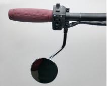 RÉTROVISEUR RÉVERSIBLE AJUSTABLE. DROITE/GAUCHE  Ø 75 mm AVEC SUPPORT