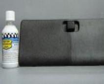 Protection ravivante pour interieurs matiere plastique