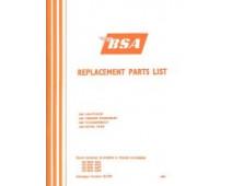 BSA A50 A65 1970