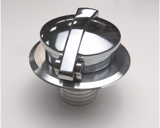 Bouchon dEssence de R/éservoir de Moto Couvercle de R/éservoir de Bouchon de R/éservoir de Moto en Aluminium